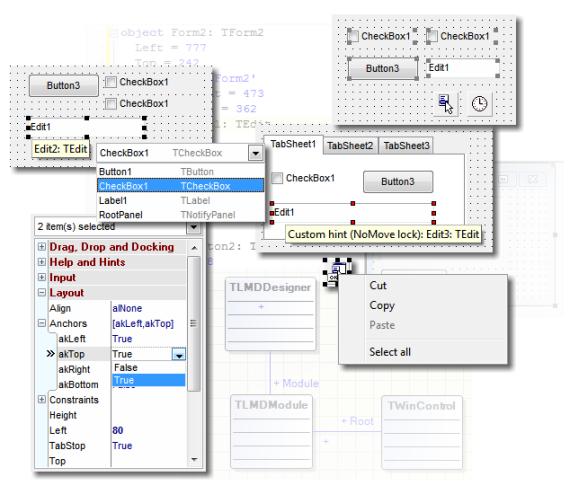 LMD Innovative  Delphi components  LMD DesignPack