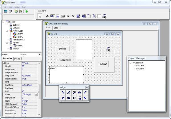 LMD Innovative  Delphi components  LMD IDE-Tools